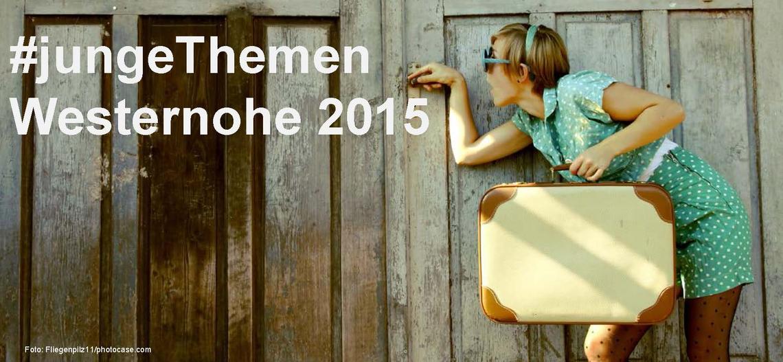 Logo #jungeThemen - Westernohe 2015