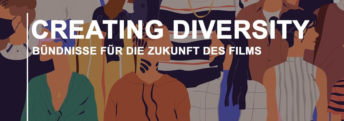 Logo Creating Diversity - Bündnisse für die Zukunft des Films