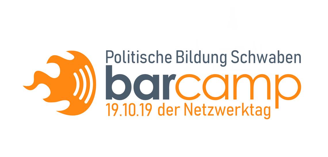 Logo Barcamp Politische Bildung Schwaben - der Netzwerktag