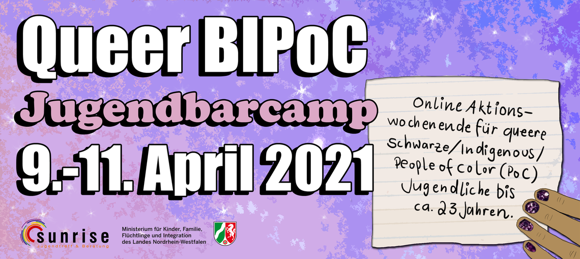 Logo Queer BIPoC JugendBarcamp