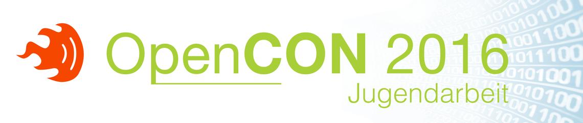 Logo OpenCON – Digitale Kultur in der Jugendarbeit