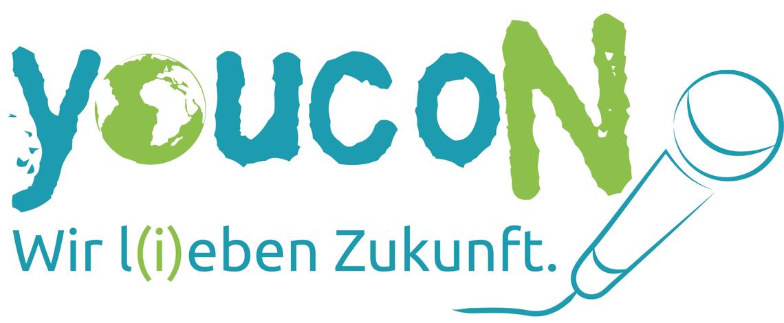 """Logo Wir l(i)eben Zukunft - youcoN""""19"""