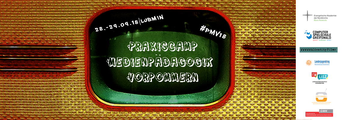 Logo Praxiscamp Medienpädagogik Vorpommern