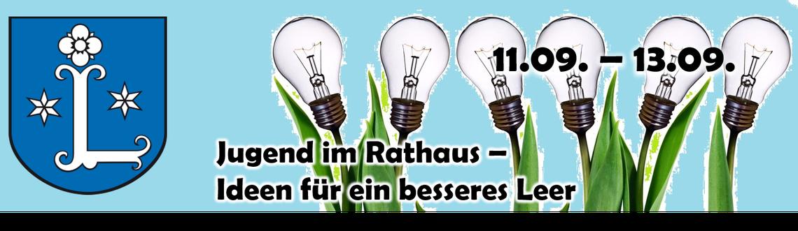 Logo Jugend im Rathaus - Ideen für ein besseres Leer