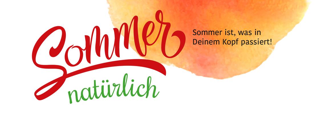 Logo #SommerNatürlich - Online BarCamp
