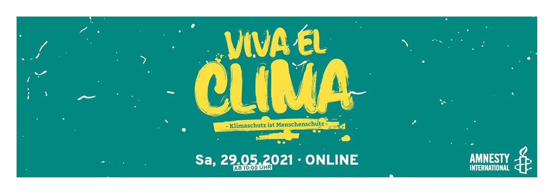 Logo Klimaschutz ist Menschenschutz | Amnesty International Online-Barcamp