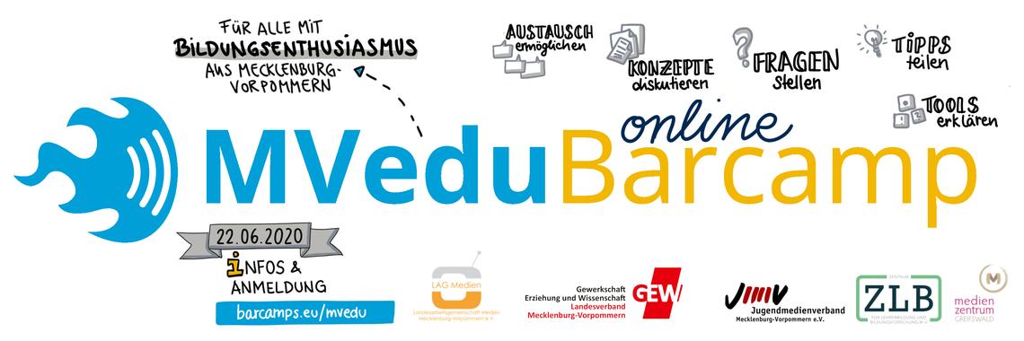 Logo #MVeduBarcamp Online