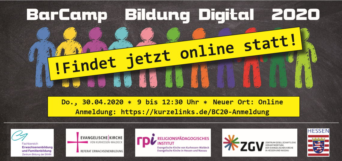 Logo Online-BarCamp Bildung Digital 2020