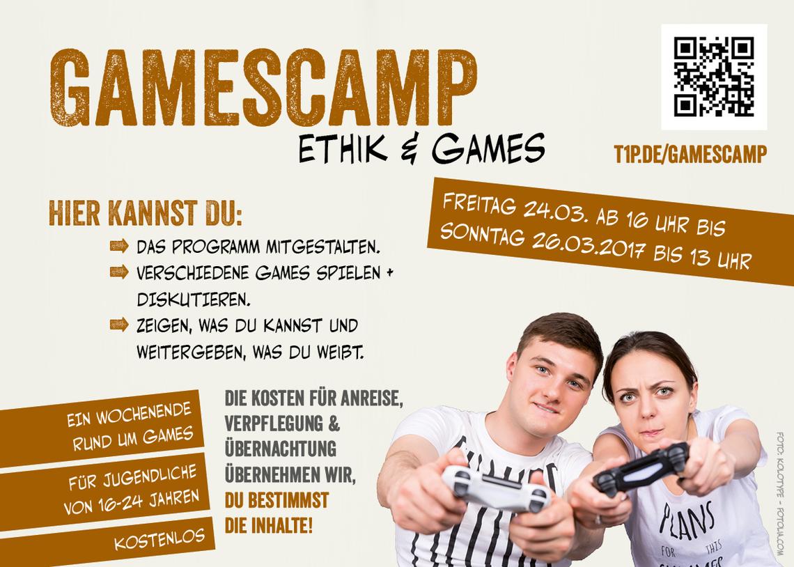 Logo Gamescamp: Ethik & Games