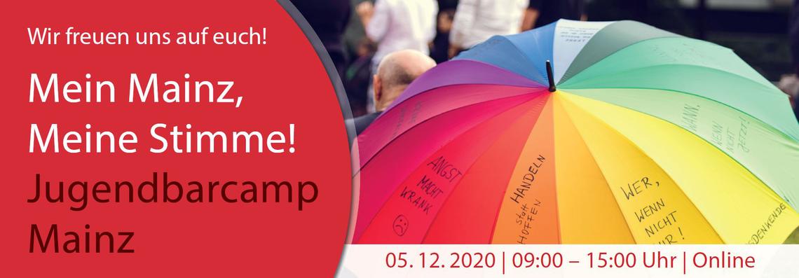 Logo Barcamp Mainz - MEIN MAINZ, MEINE STIMME!
