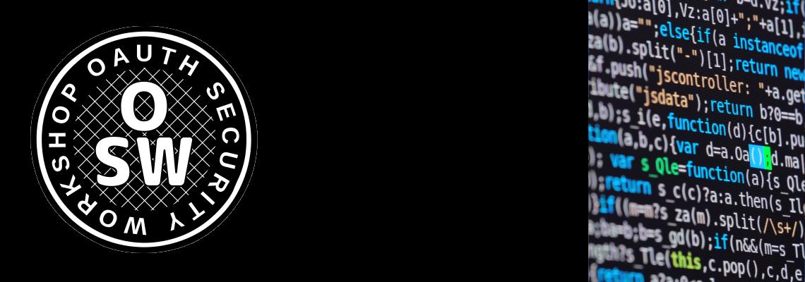 Logo OAuth Security Workshop 2021