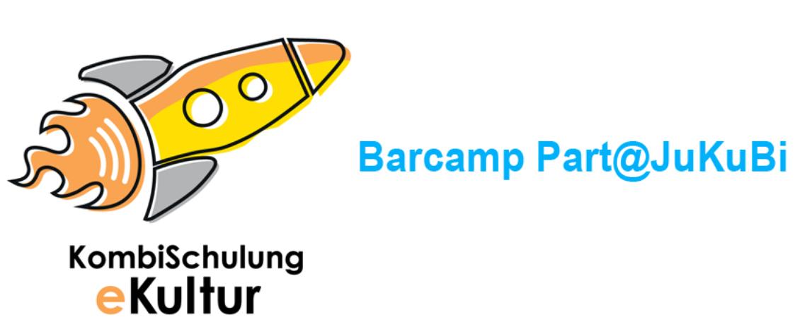Logo Part@JuKuBi - ein Barcamp für mehr Partizipation in der Jugendkulturarbeit / Kulturellen Bildung