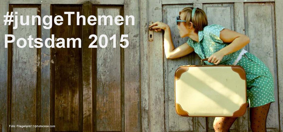 Logo #jungeThemen - Potsdam 2015