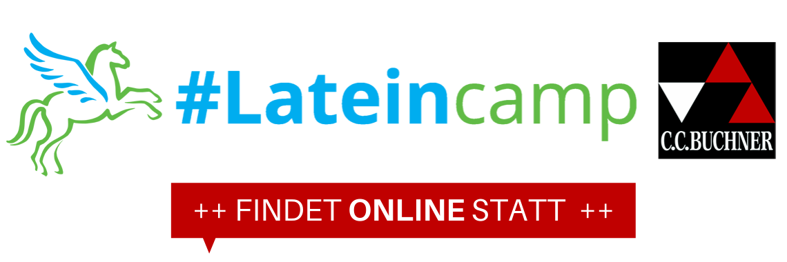 Logo #Lateincamp – Latein und Griechisch digital