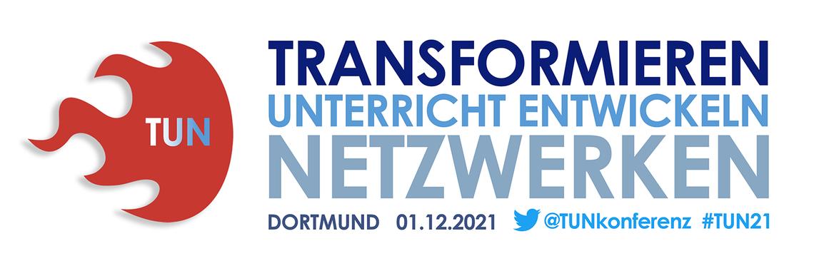 Logo #TUN: TRANSFORMIEREN - UNTERRICHT ENTWICKELN - NETZWERKEN