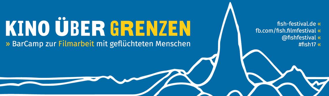 Logo Kino über Grenzen - Filmarbeit mit geflüchteten Menschen