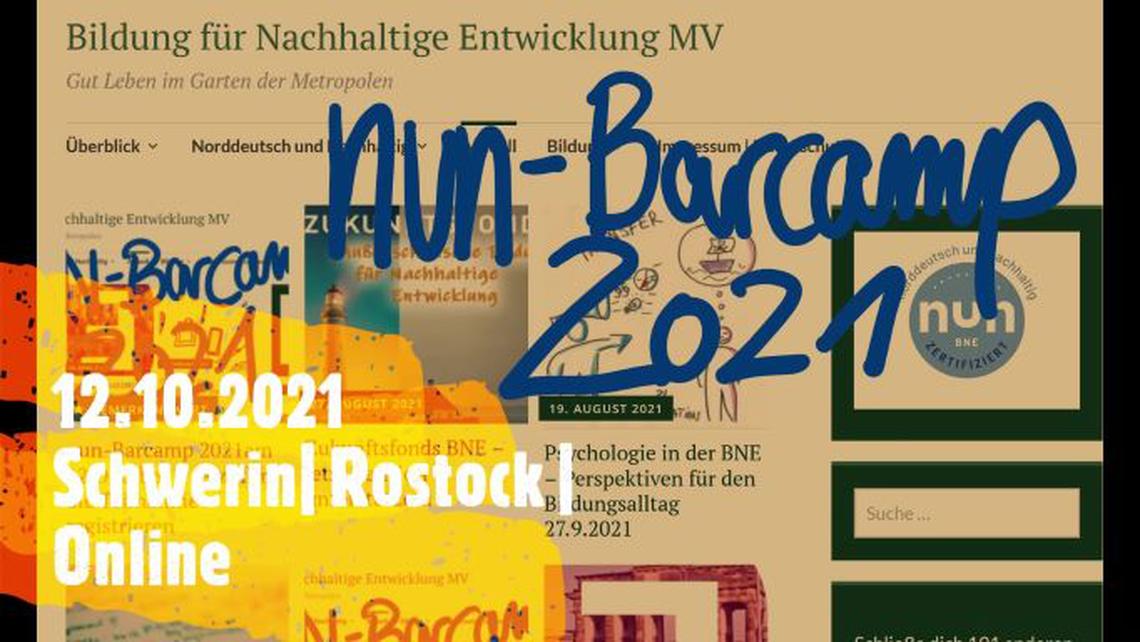 Logo nun - Barcamp MV 2021
