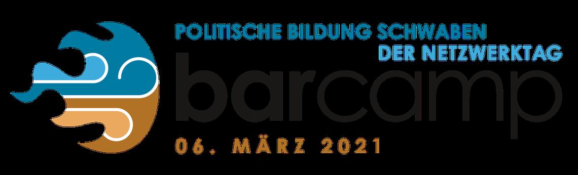 Logo Barcamp Politische Bildung Schwaben - der Netzwerktag 2021
