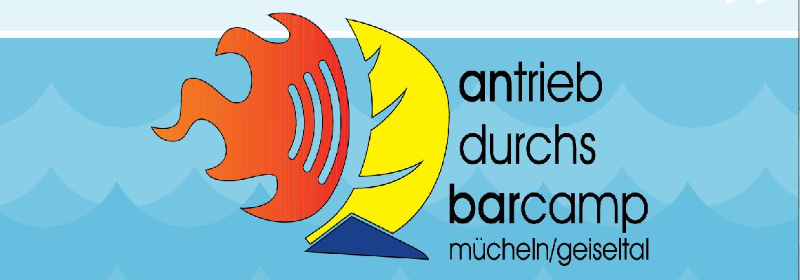 Logo Jugendbarcamp Mücheln/Geiseltal