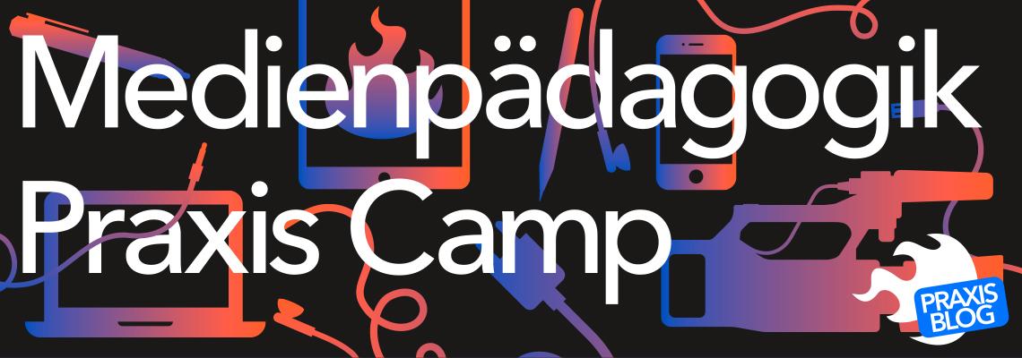 Logo Medienpädagogik Praxis Camp 2019