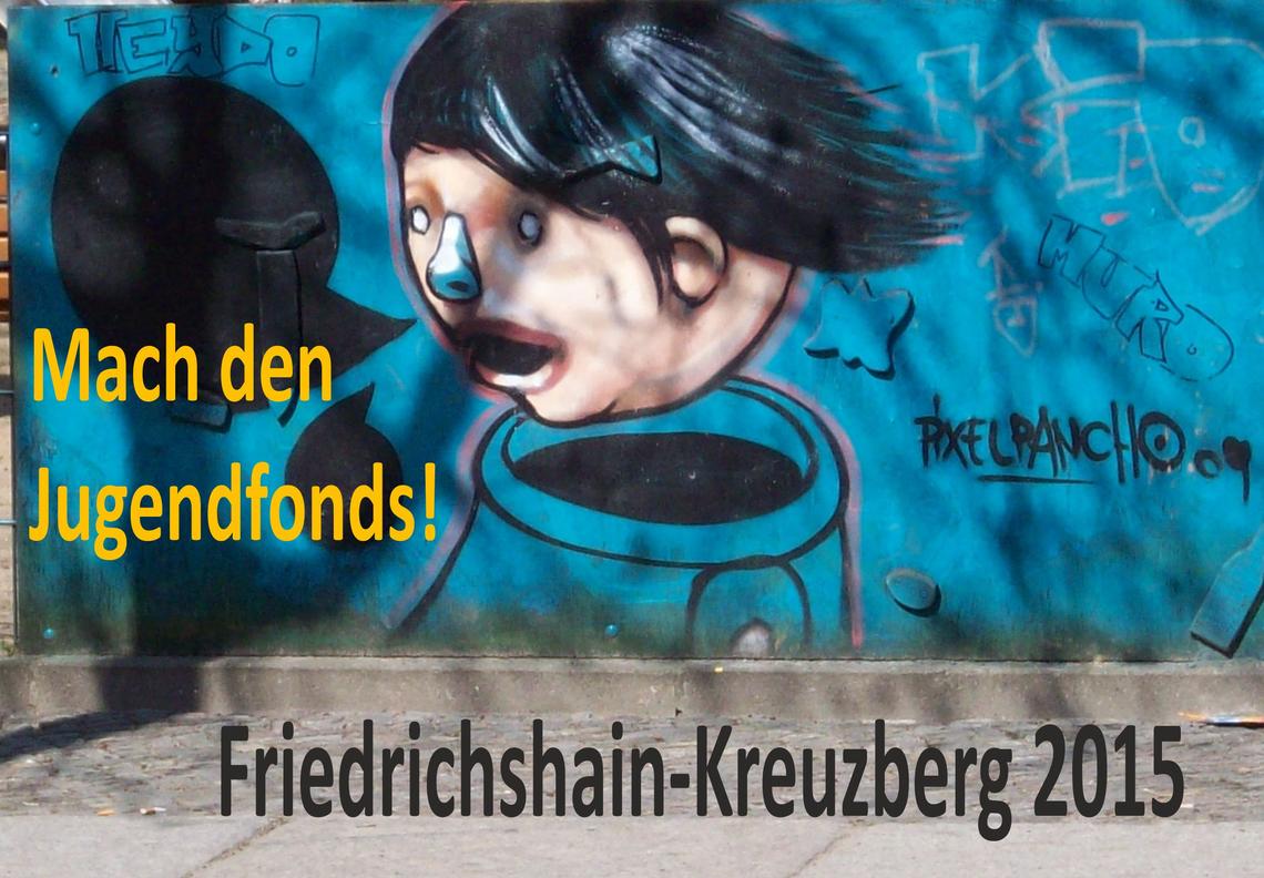 Logo Mach den Jugendfonds! Friedrichshain-Kreuzberg 2015