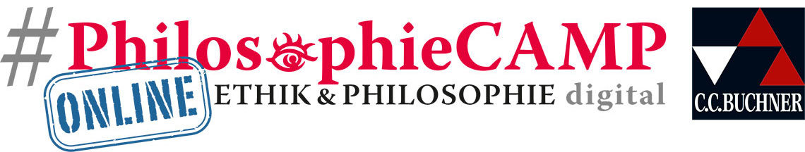 Logo #PhilosophieCAMP 2021 - Ethik & Philosophie digital