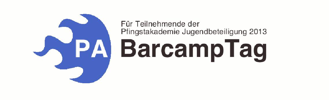 Logo BarcampTag Pfingstakademie Jugendbeteiligung 2013