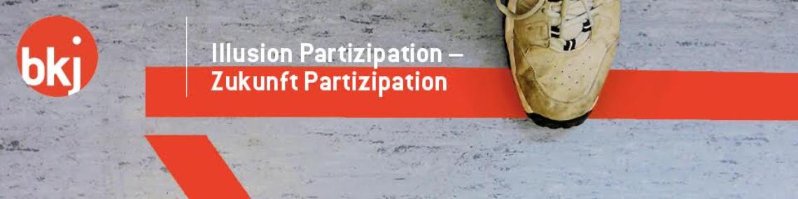 "Logo Barcamp im Rahmen von ""Illusion Partizipation – Zukunft Partizipation"""