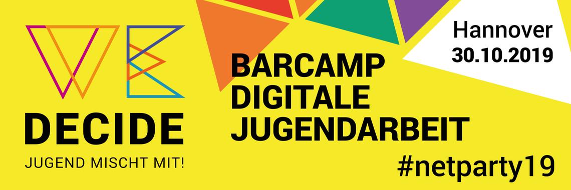 Logo Barcamp Digitale Jugendarbeit