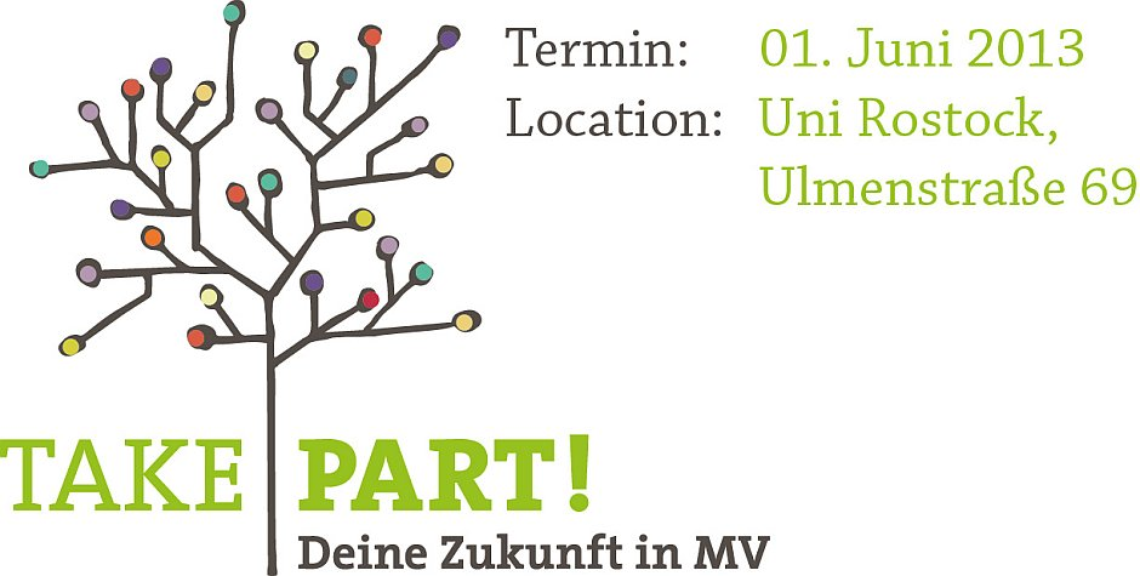 Logo Take Part! Deine Zukunft in MV.