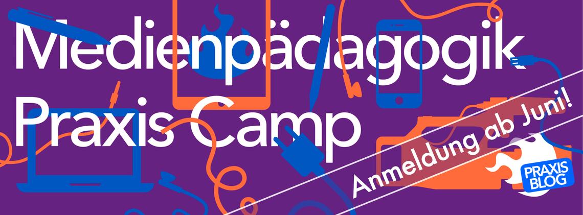 Logo Medienpädagogik Praxis Camp 2021
