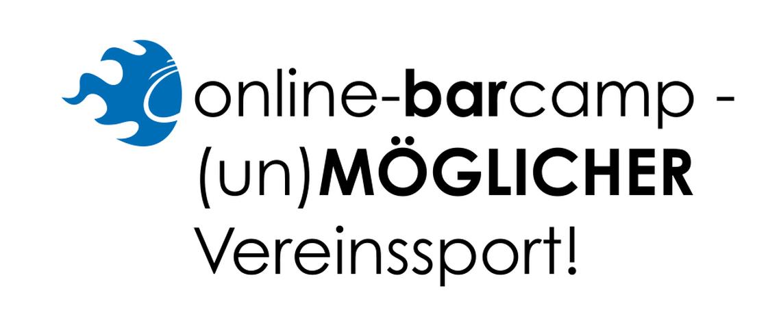 Logo Online-BarCamp (un)möglicher Vereinssport