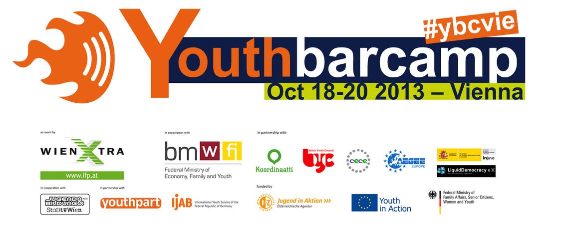 Logo youthbarcamp Vienna 2013