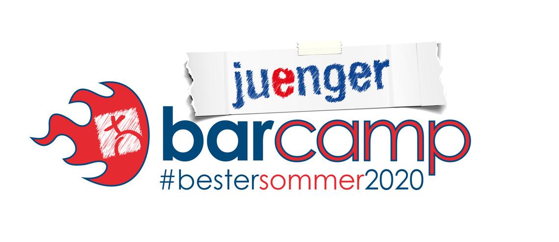 Logo juenger BarCamp #bestersommer2020