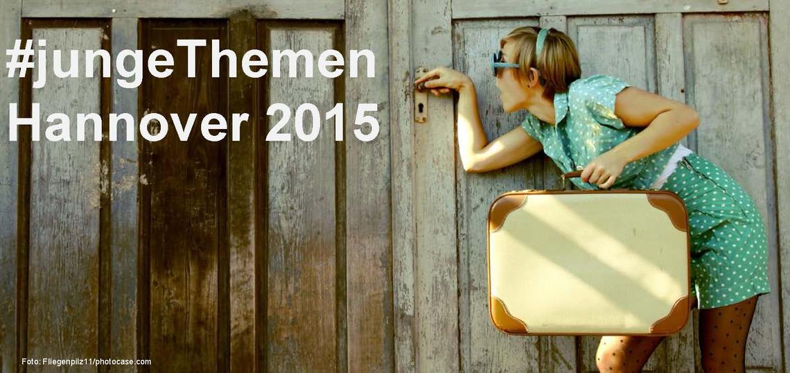 Logo #jungeThemen - Hannover 2015