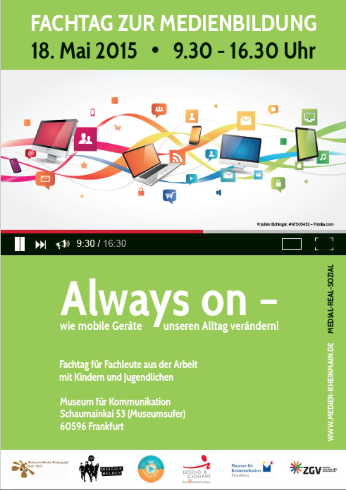 Logo Fachtag Medienpädagogik 2015