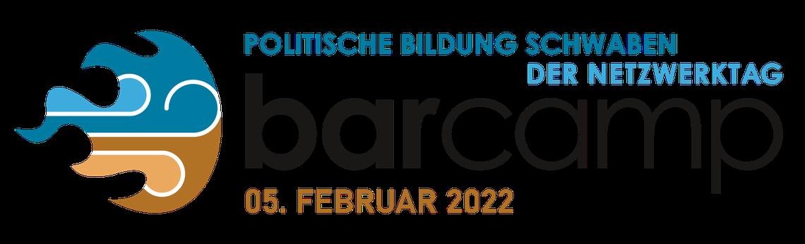 Logo Barcamp Politische Bildung Schwaben - der Netzwerktag 2022