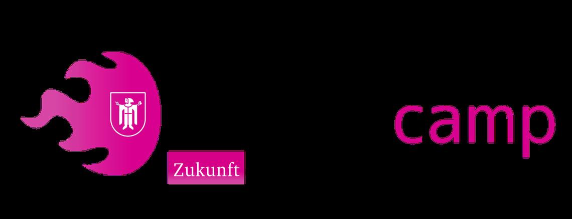Logo LHM FutureCamp 18 - Die Zukunft der Stadtverwaltung München