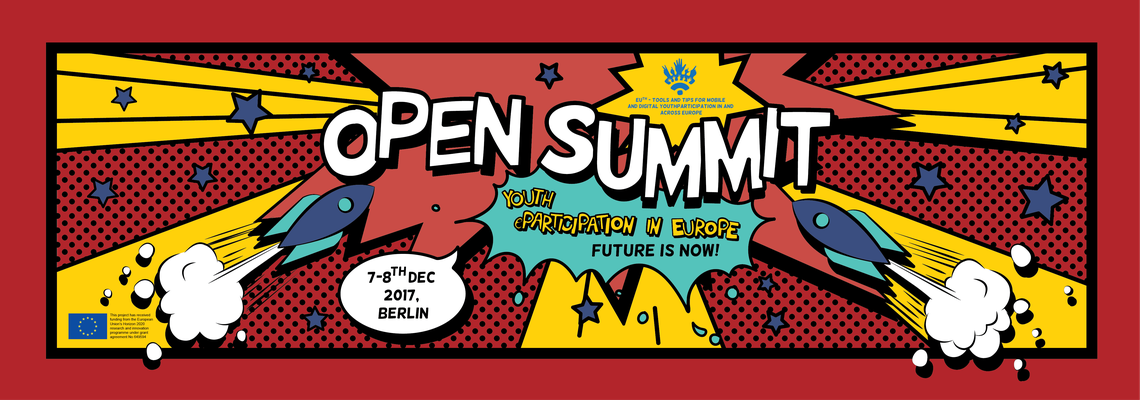 Logo EUth Open Summit: Youth eParticipation in Europe: The Future is now!
