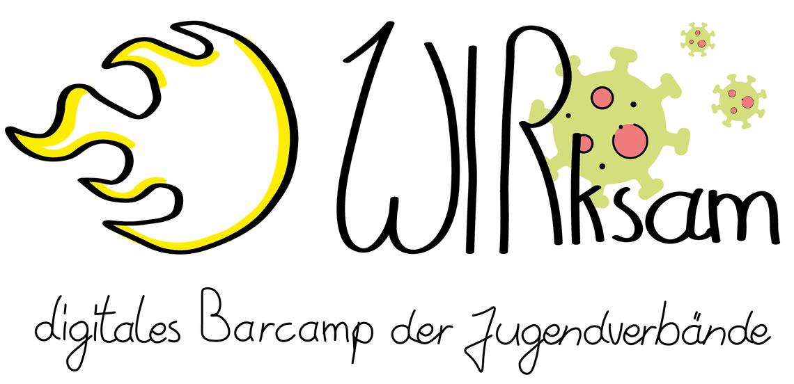 Logo WIRksam - digitales Barcamp für Jugendverbandsarbeit