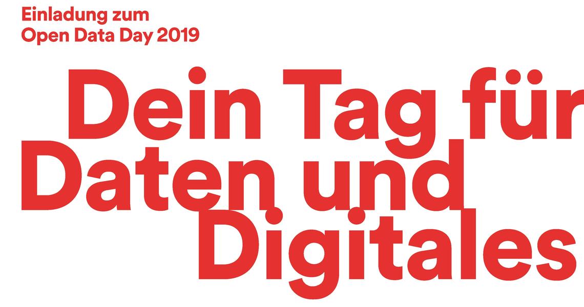 Logo Open Data Day Düsseldorf 2019