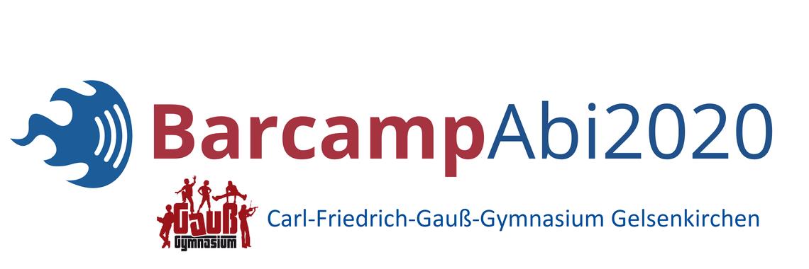 Logo Barcamp Abitur 2020 am Gauss